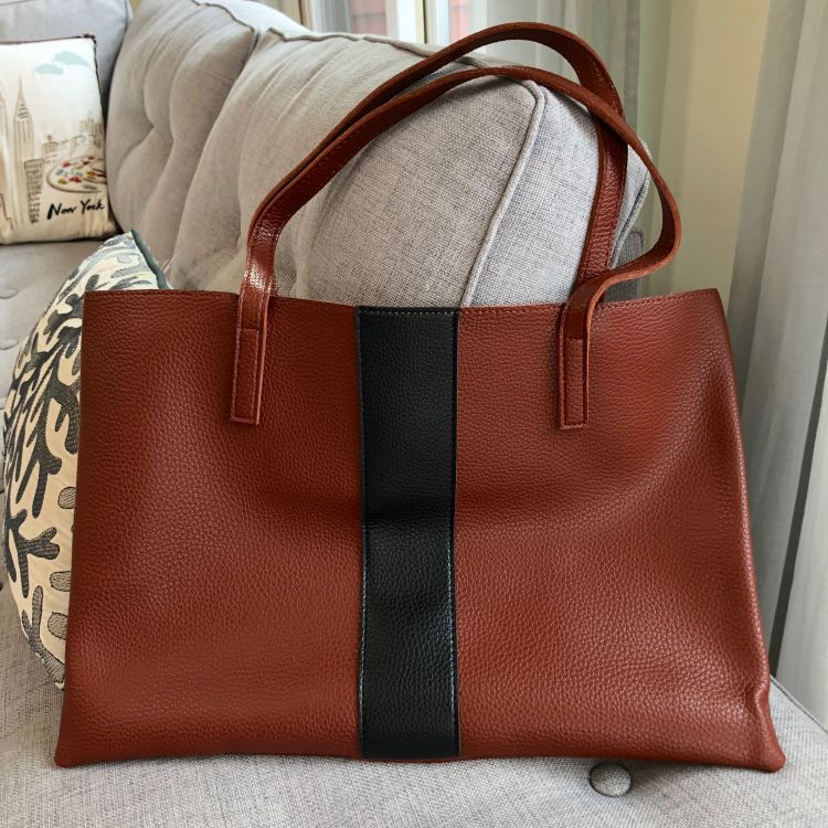 Vince Camuto Luck Tote in Red Desert | FabFitFun Fall 2018