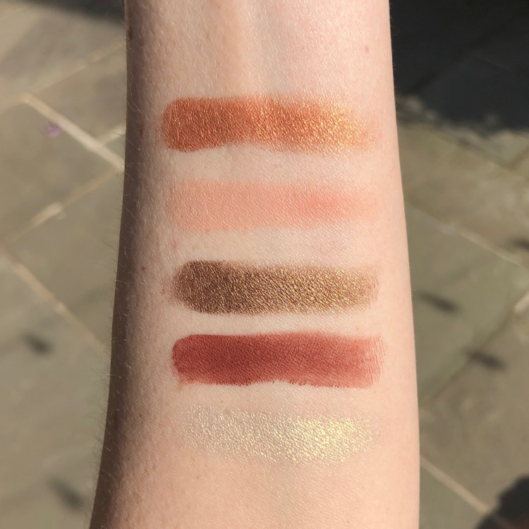 House Lannister Eyeshadow Swatches | Urban Decay Game of Thrones Eyeshadow Palette