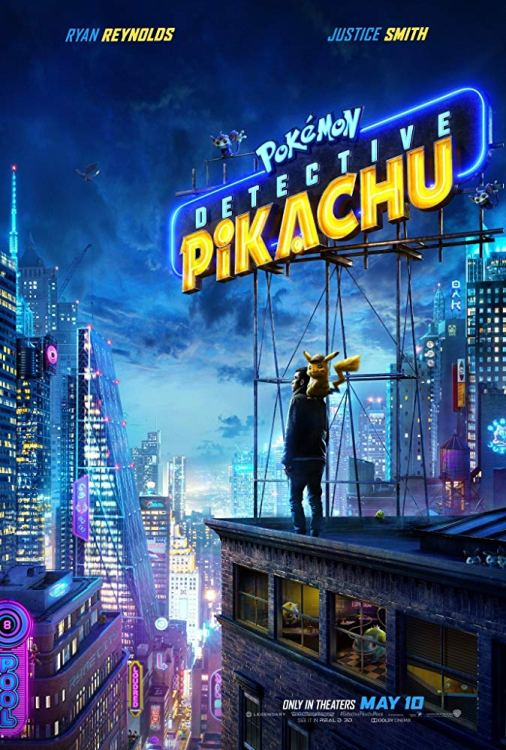 Pokémon Detective Pikachu poster from Legendary