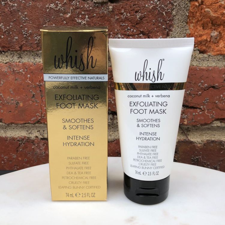 Whish Exfoliating Foot Mask | FabFitFun