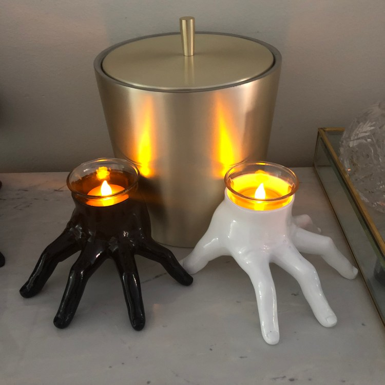 Target hand candleholders