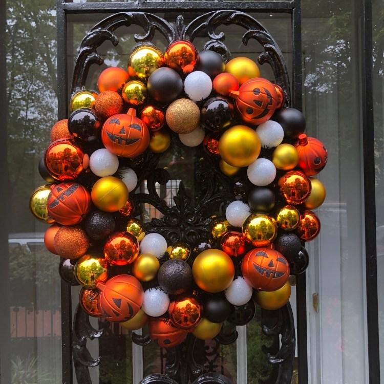 Target Halloween wreath