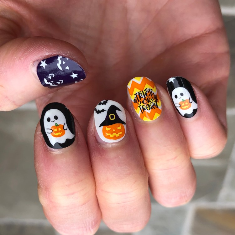 Kiss Halloween Nail Stickers