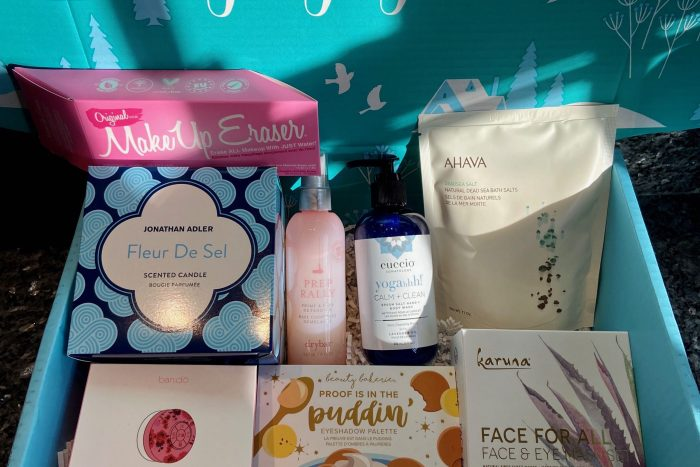 FabFitFun Winter 2019 Products