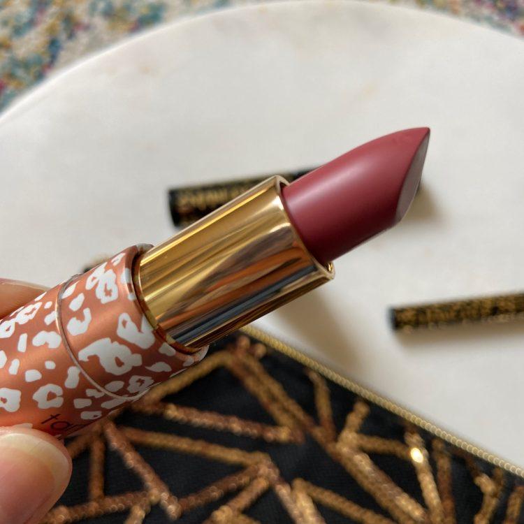 Tarte glide & go buttery lipstick in Rosy View