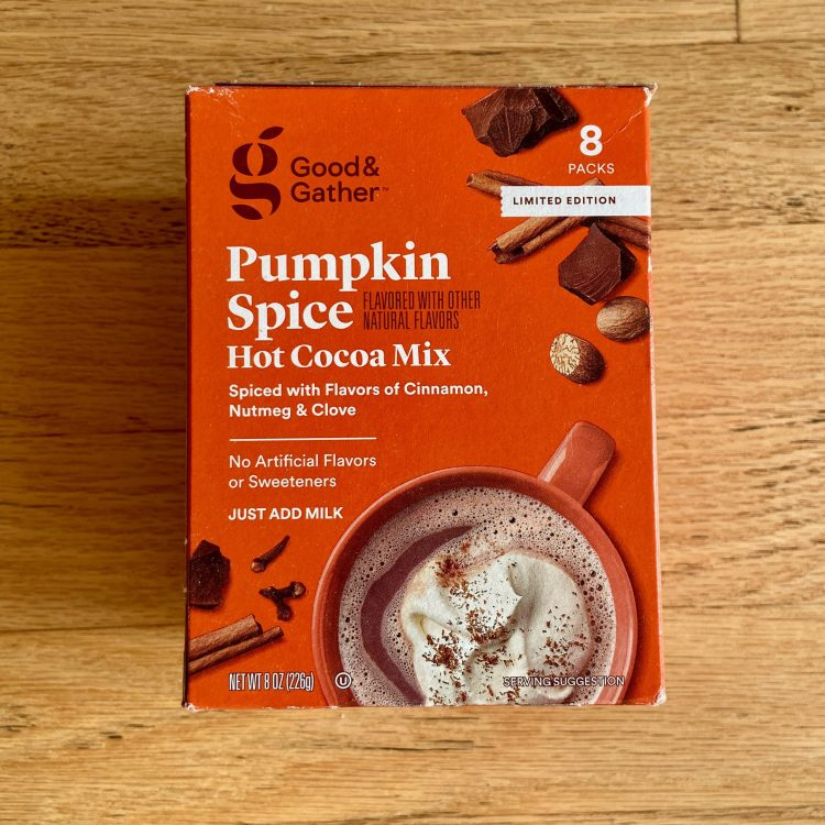 Target Pumpkin Spice Hot Cocoa