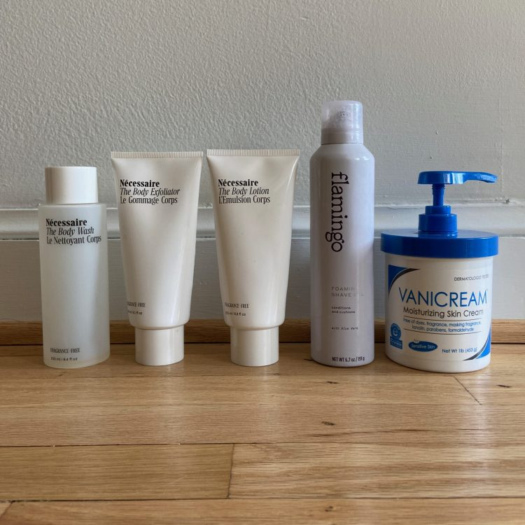 March body care empties