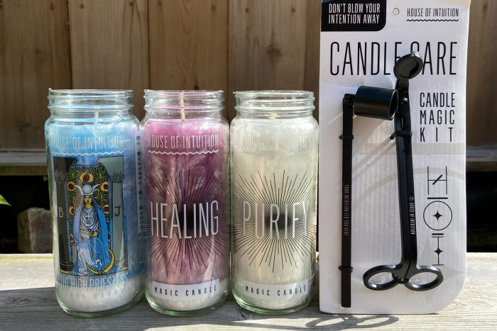 HoI Candles & candle care kit