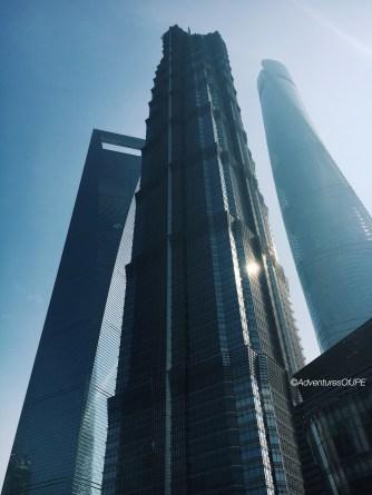 Shanghai World Financial Center, Jinmao Tower, Shanghai Tower