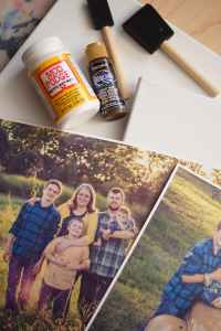 How to Make a Beautiful DIY Photo Canvas on the Cheap