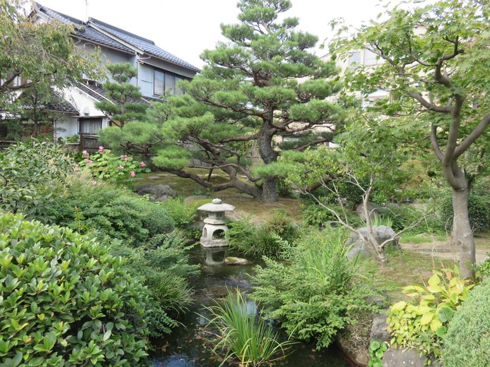 Garden in Samurai District, Kanazawa