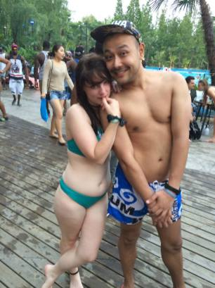 Pool Party in Beijing