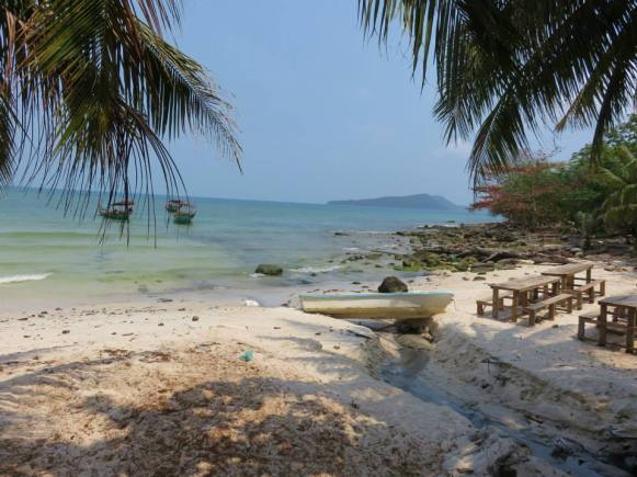 Beach in Koh Rong, Cambodia