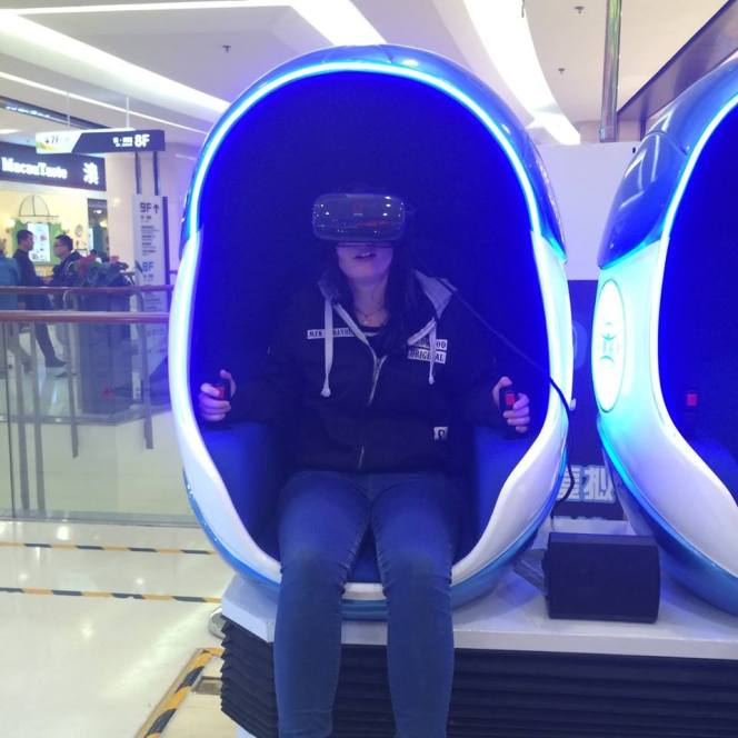 Escaping through virtual reality