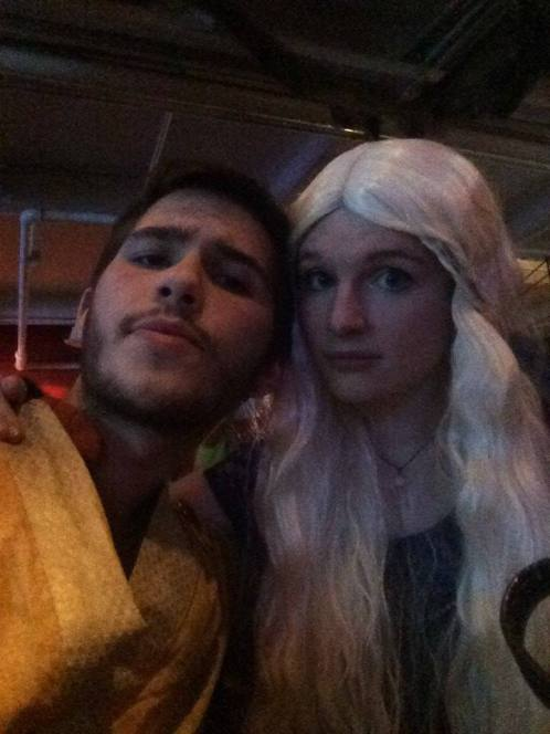 Halloween Party - Daenerys and Oberyn