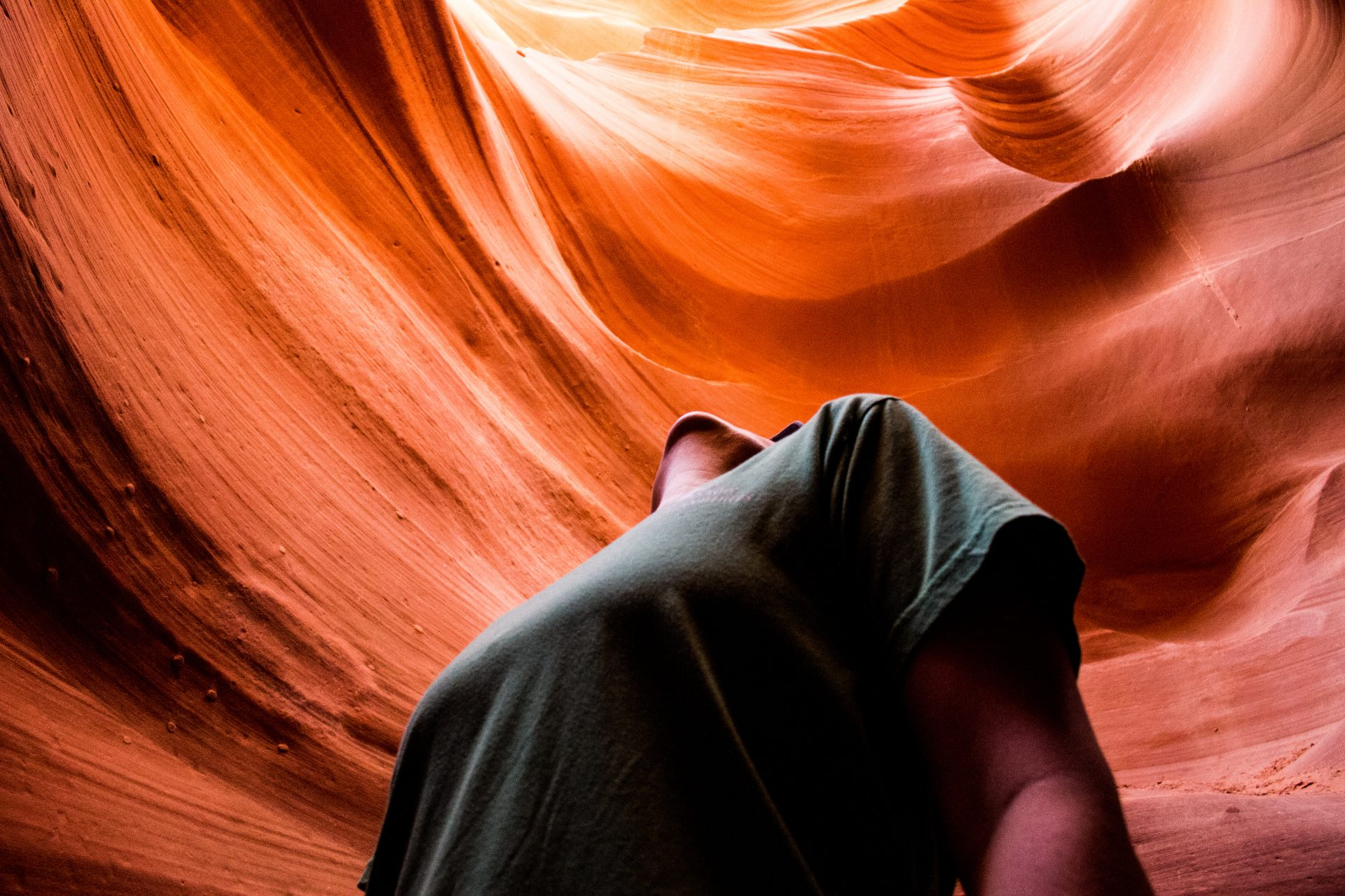 Looking-Up-At-Antelope-Canyon