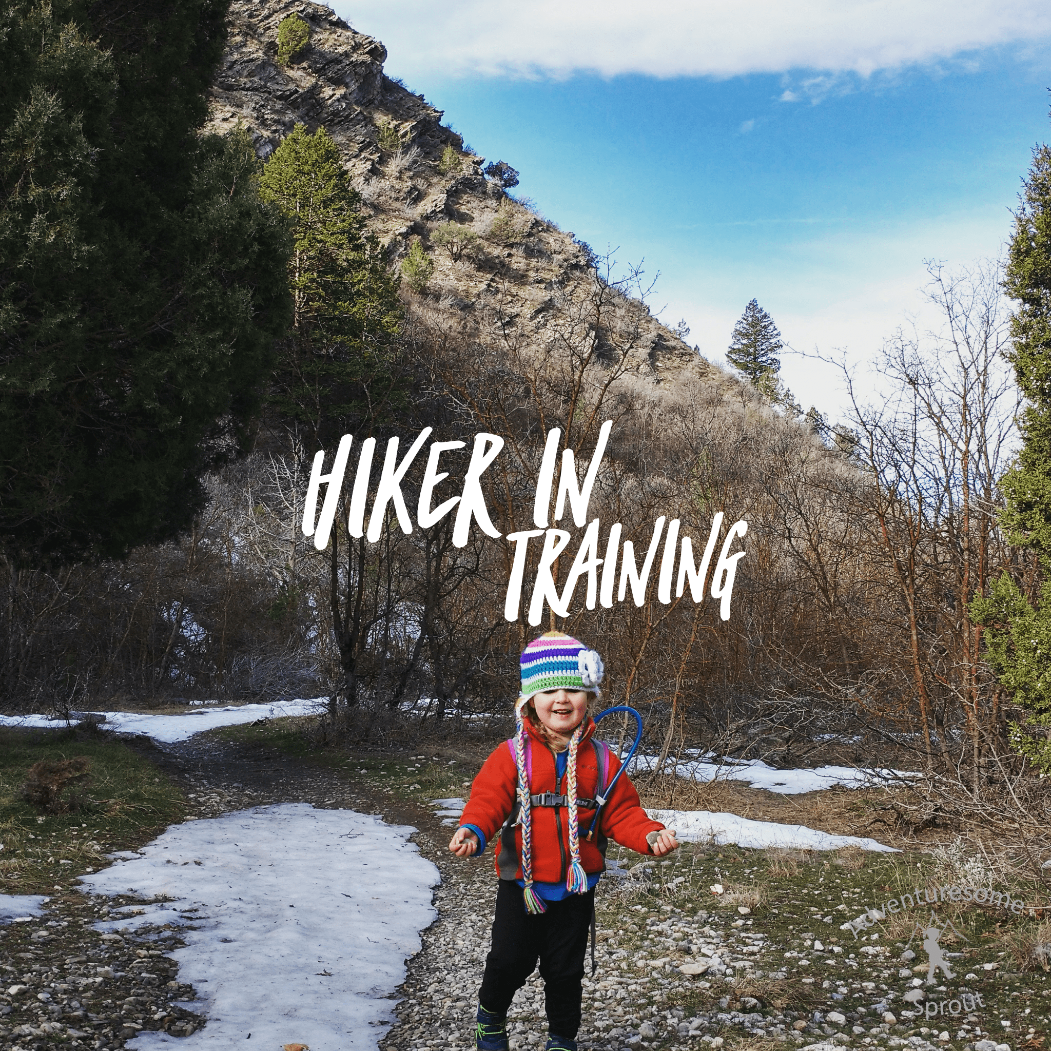 A new approach: Hiker in training
