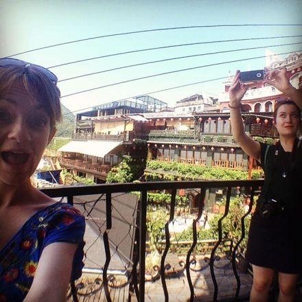 Selfie-ing around