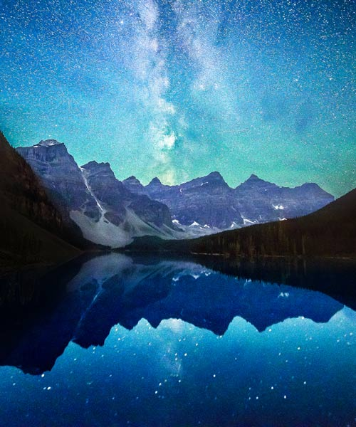 Moraine Lake Stars