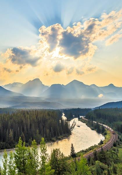 Sunlight Railroad Canada