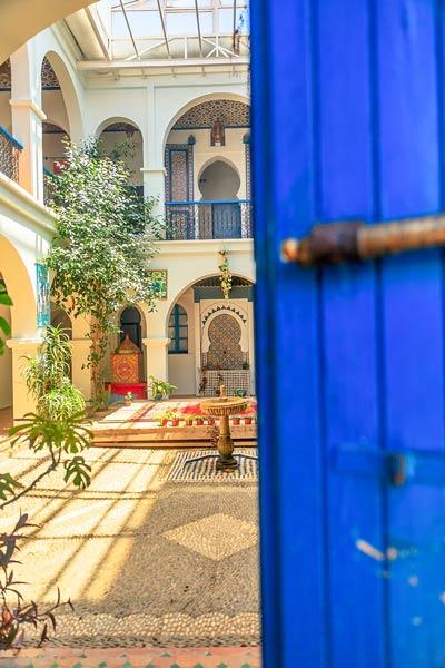 Morocco Chefchaouen Doorway