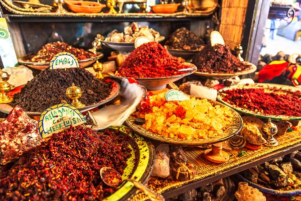 Morocco Spices and Fragrances