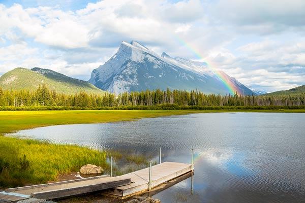 Rainbow Canada Lake