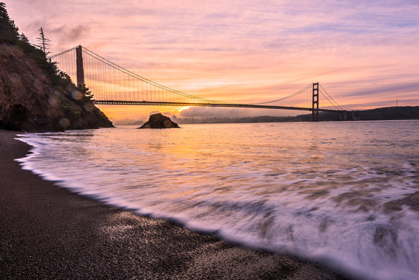 San Francisco Beach Sunrise