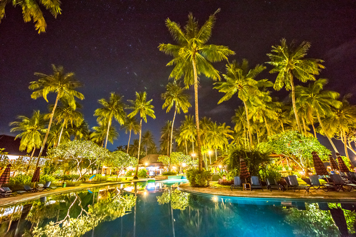 Holiday Resort Lombok at Night