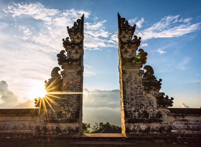 Pura Lempuyang Temple Sunset