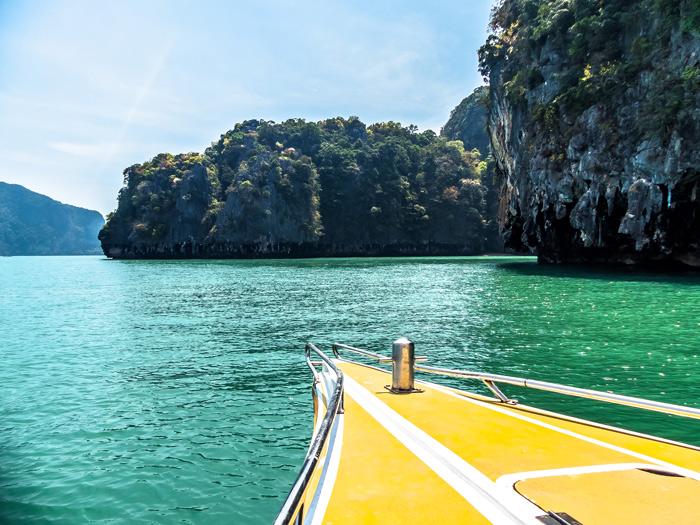 Phang Nga Bay Boat
