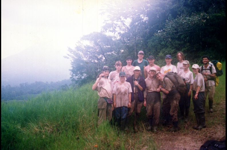 A jungle group- this one not in the Oriente