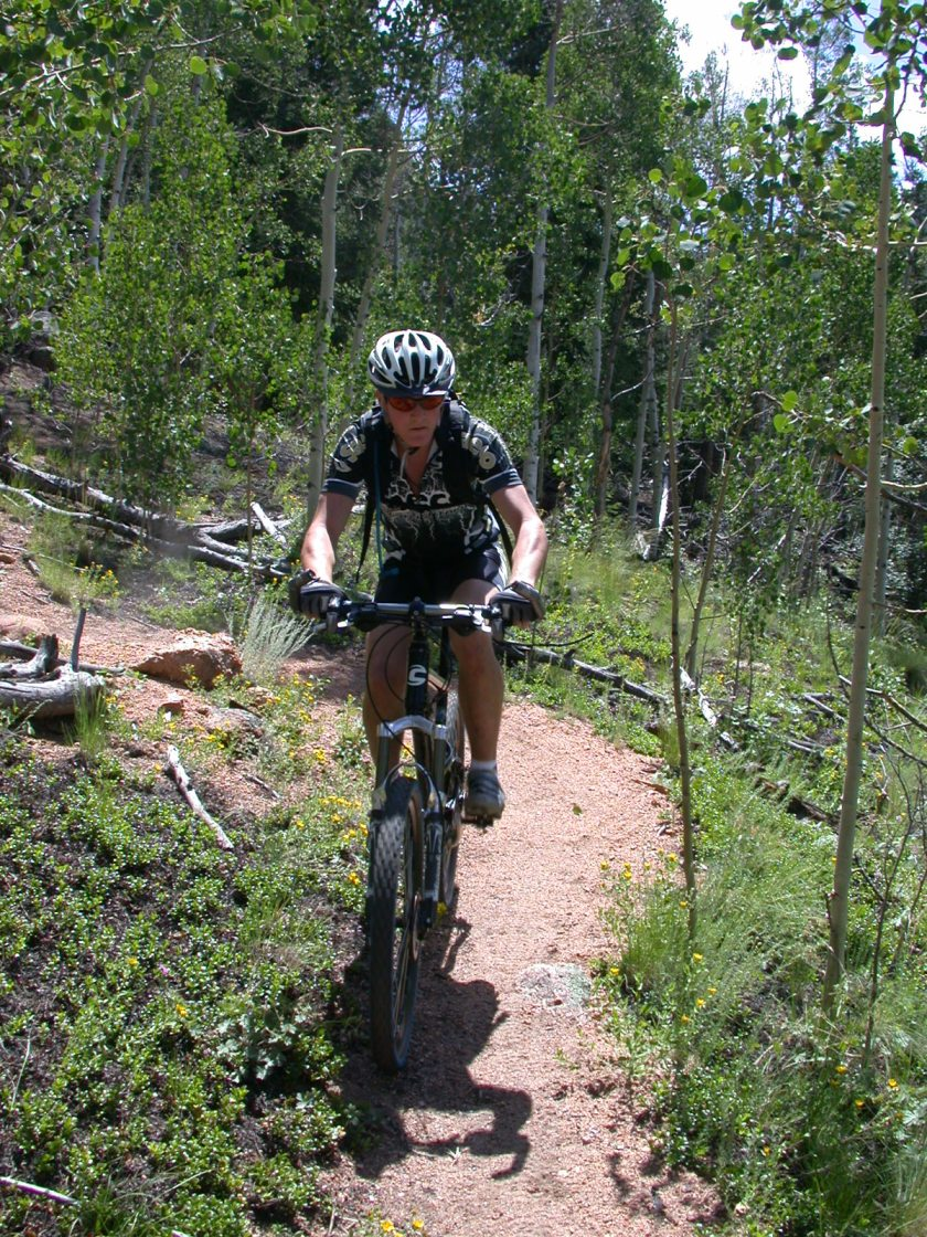 Mountain biking in Colorado