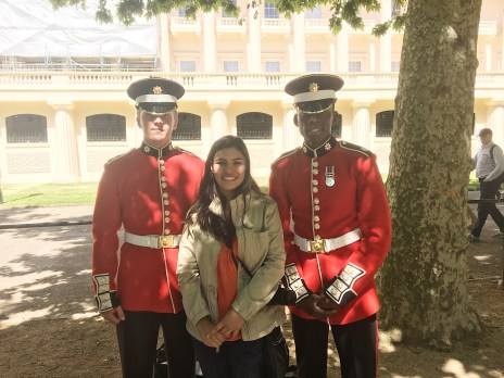 Found the British guards, still working on finding the British boyfriend though