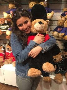 I'm so sad I can't bring back my Harrods bear because I don't have space in my bag