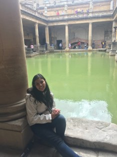 This is me living it up at Bath