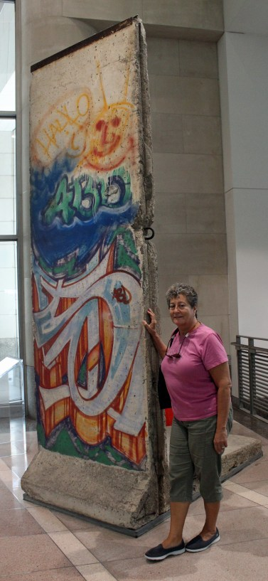 Fragment of Berlin Wall