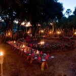 Xigera Camp - Boma Dinner