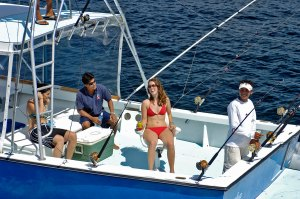 Sport fishing in Manuel Antonio