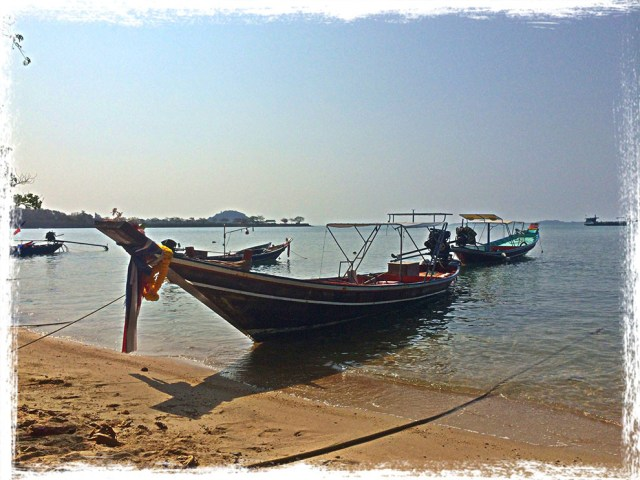 Thailand long boat