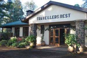 Travellers Rest Uganda - Entrance