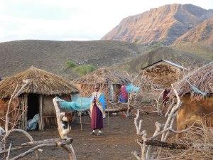 Maasai at Lake Natron