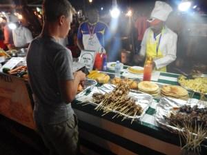 Forodhani Park nighttime street market