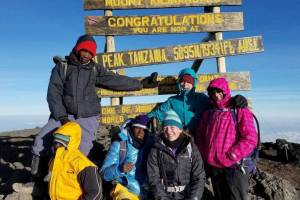 Summit Mt. Kilimanjaro on the 7-day Machame Route