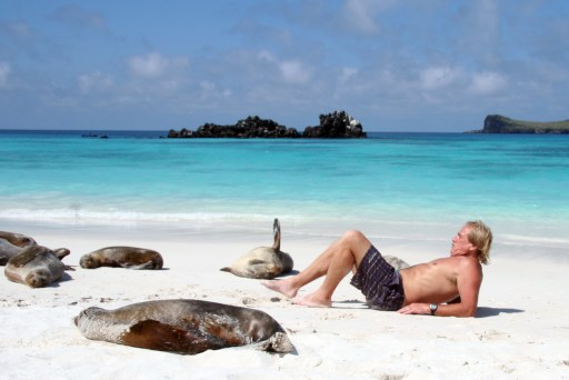 Beaches of the Galapagos Islands