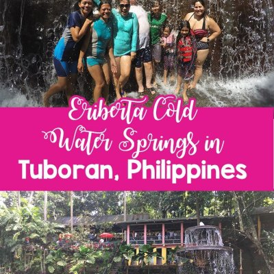 Eriberta Cold Water Springs in Tuboran, Philippines