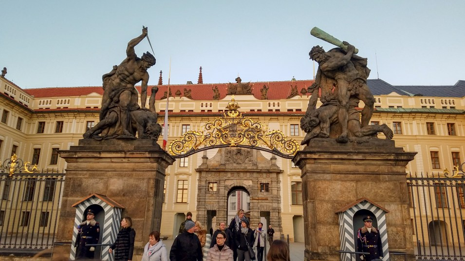 Prague Castle   Adventures with Shelby