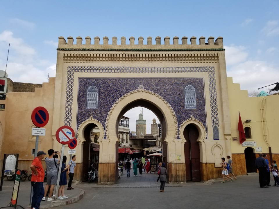 The Blue Gate, Fes, Morocco | Adventures with Shelby