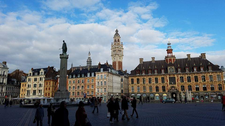 Grand Place Lille | Adventures with Shelby