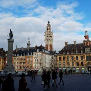 Grand Place Lille   Adventures with Shelby